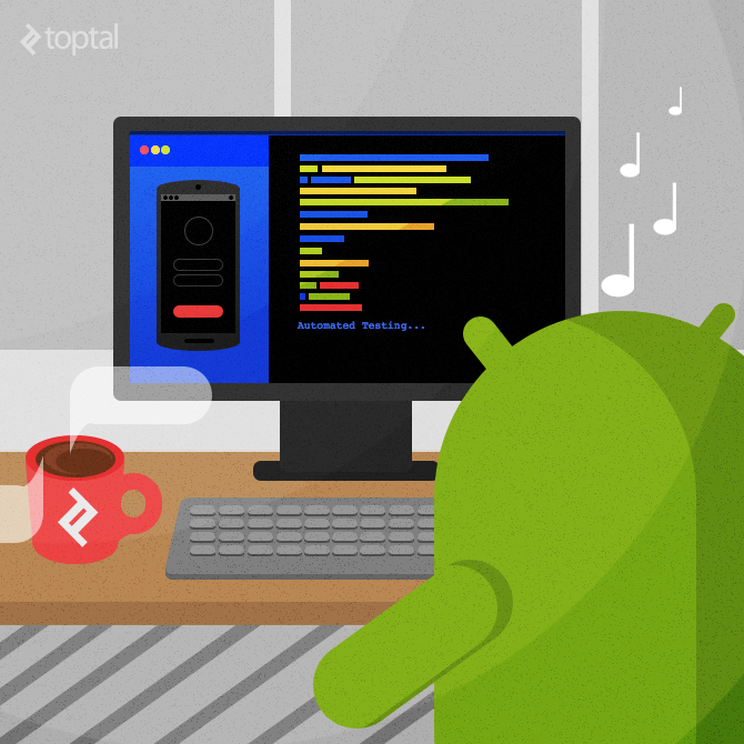 android acceptance and regression testing