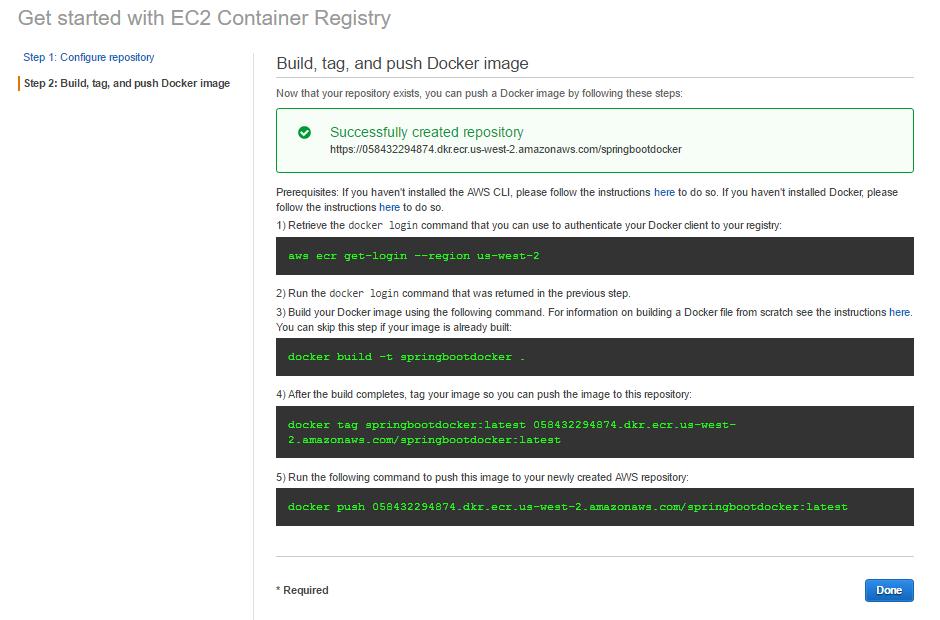 AWS EC2 Container Service