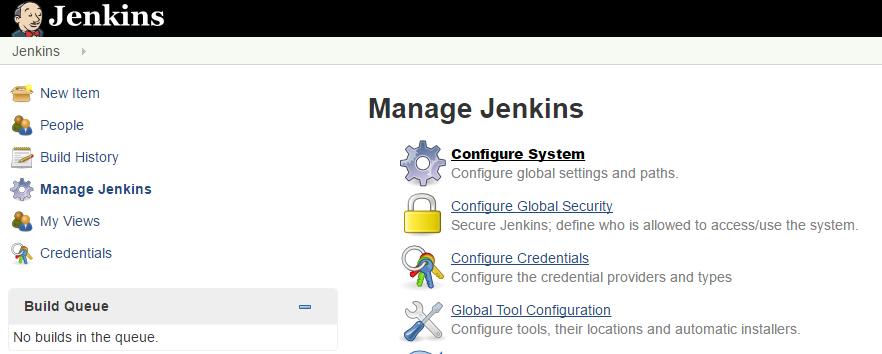Configure Jenkins System