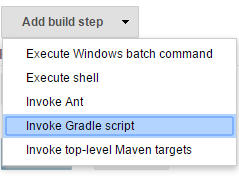 Invoke Gradle Script
