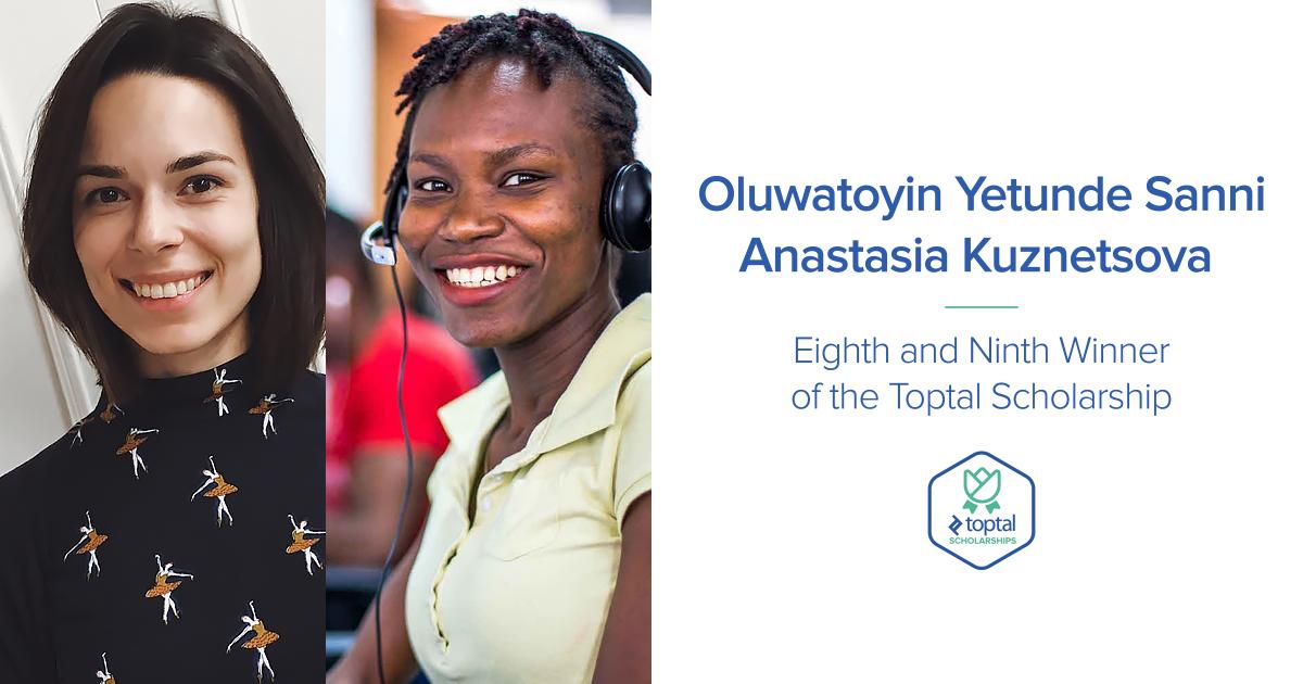 Scholarships For Women Scholarships Com >> Toptal Awards Stem Scholarship For Women To Oluwatoyin Yetunde Sanni