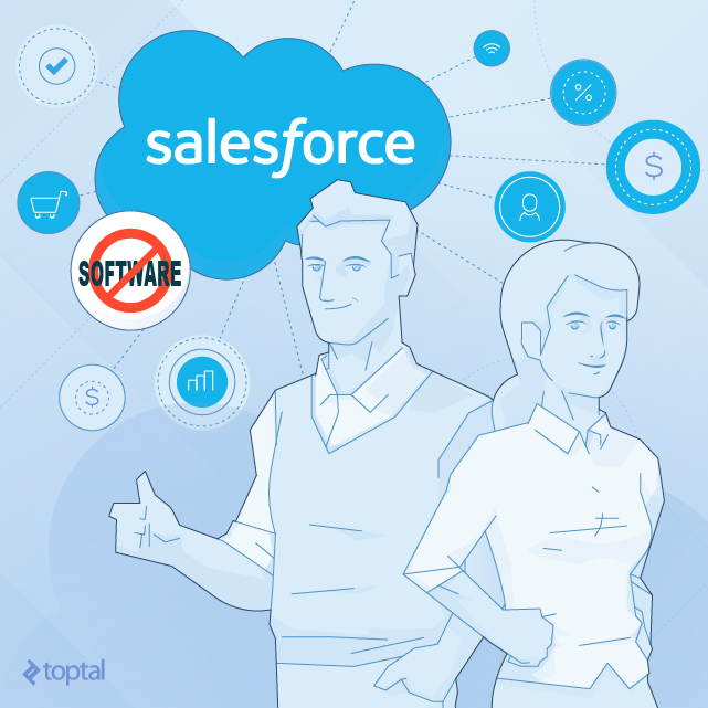 With Salesforce, there's no coding required -- until you hit a wall