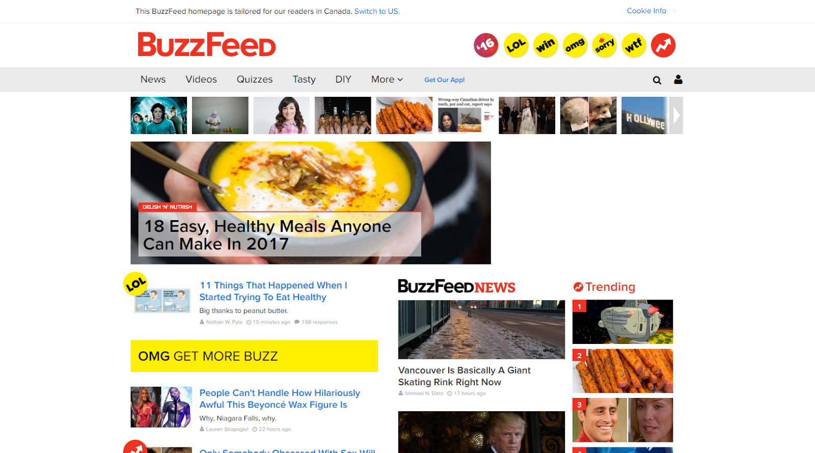 toptal: Buzzfeed