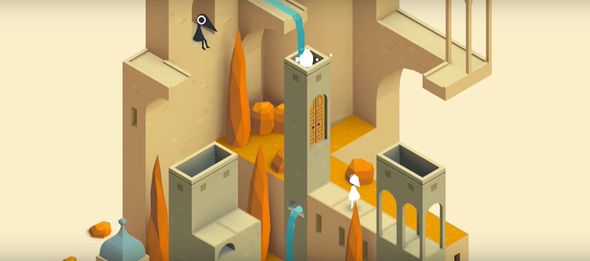 monument valley illustration