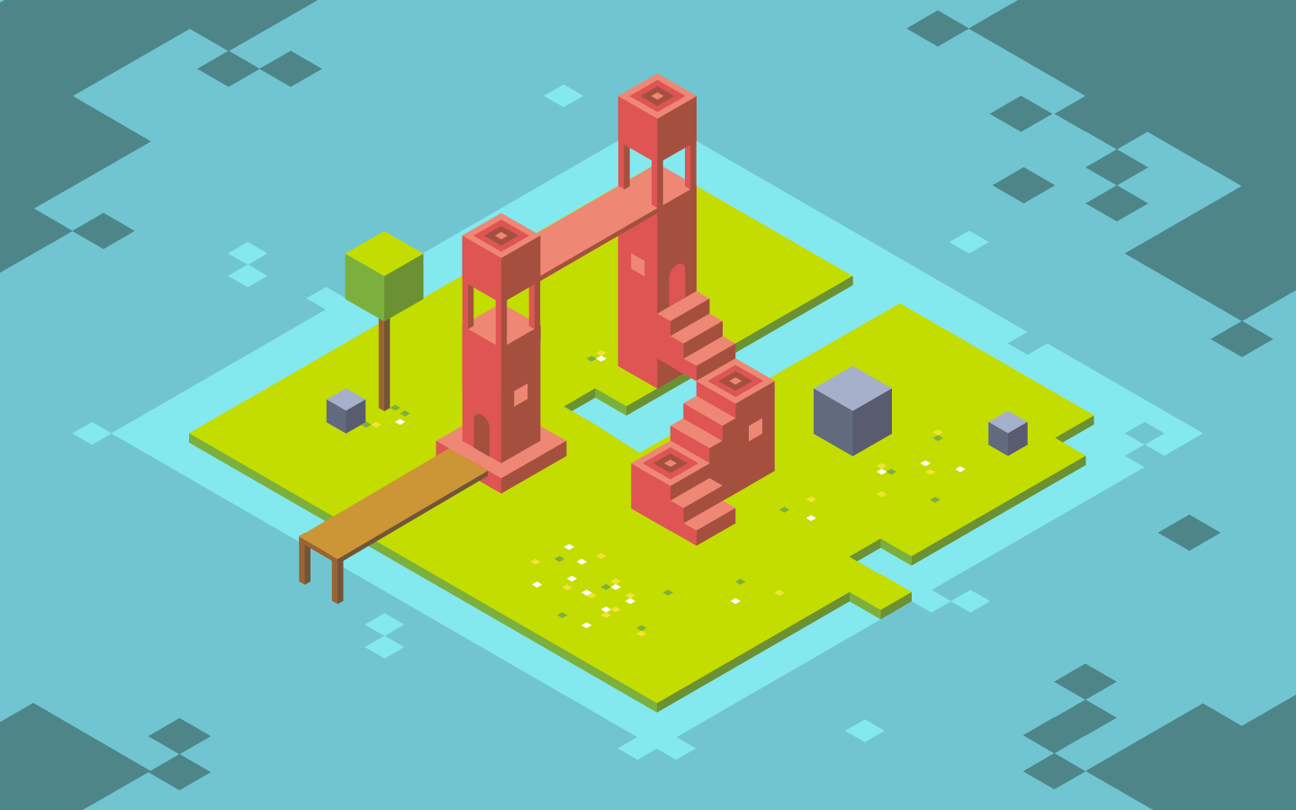 final monument valley illustration