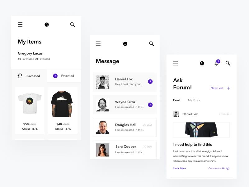 ecommerce UX design