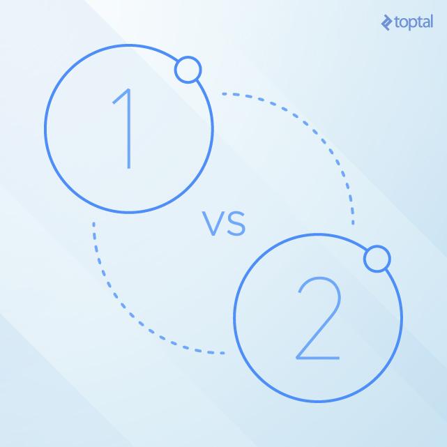 Comparison: Ionic 1 vs. Ionic 2