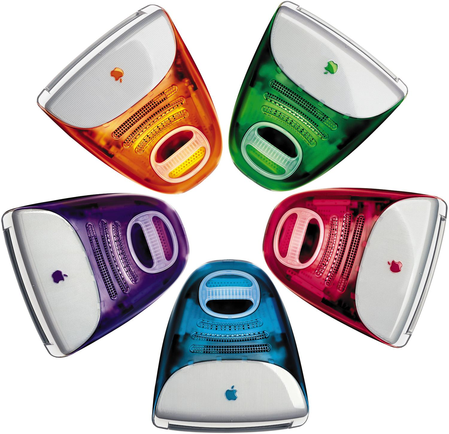 Candy-colored iMacs are emotional design