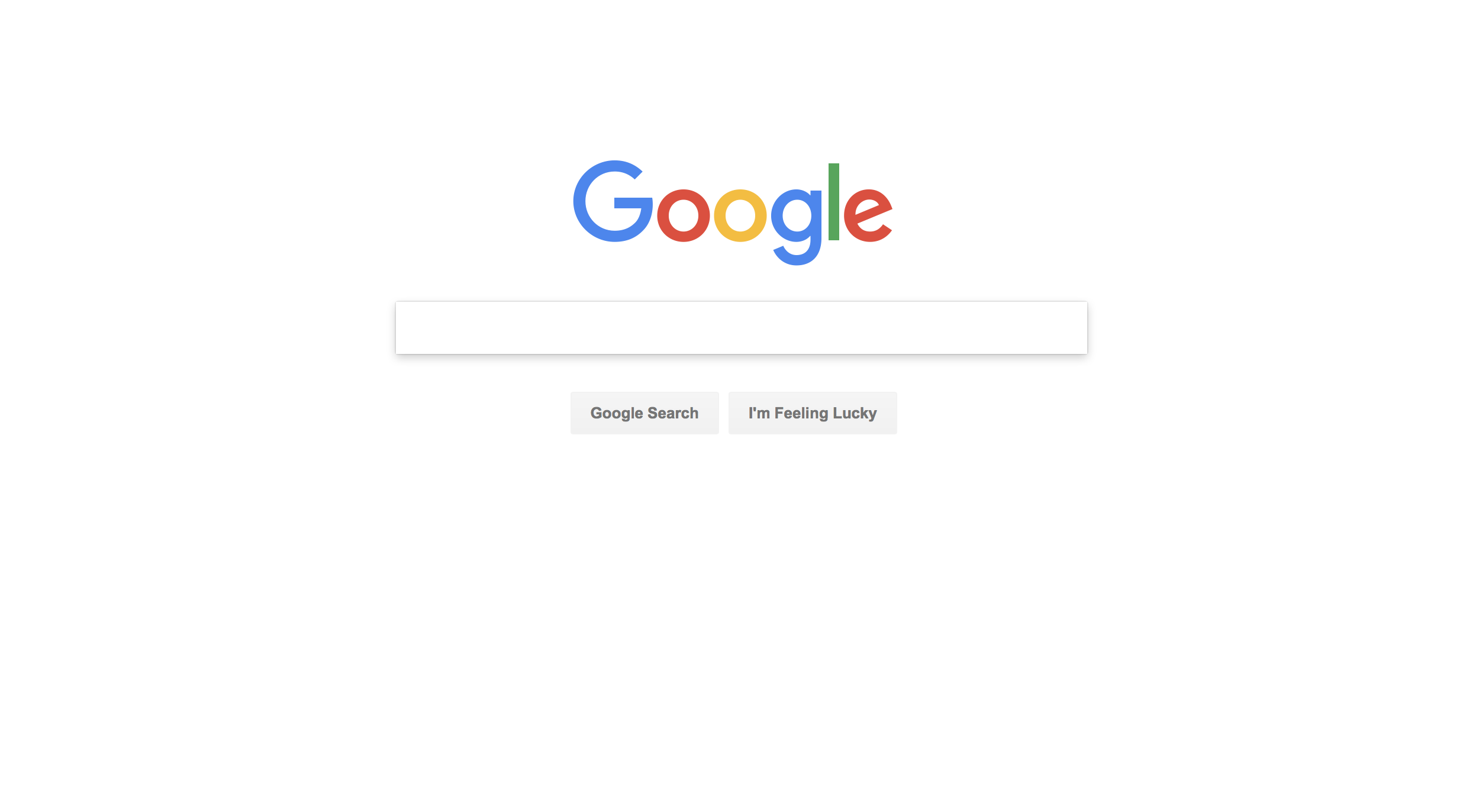 Google UI Design