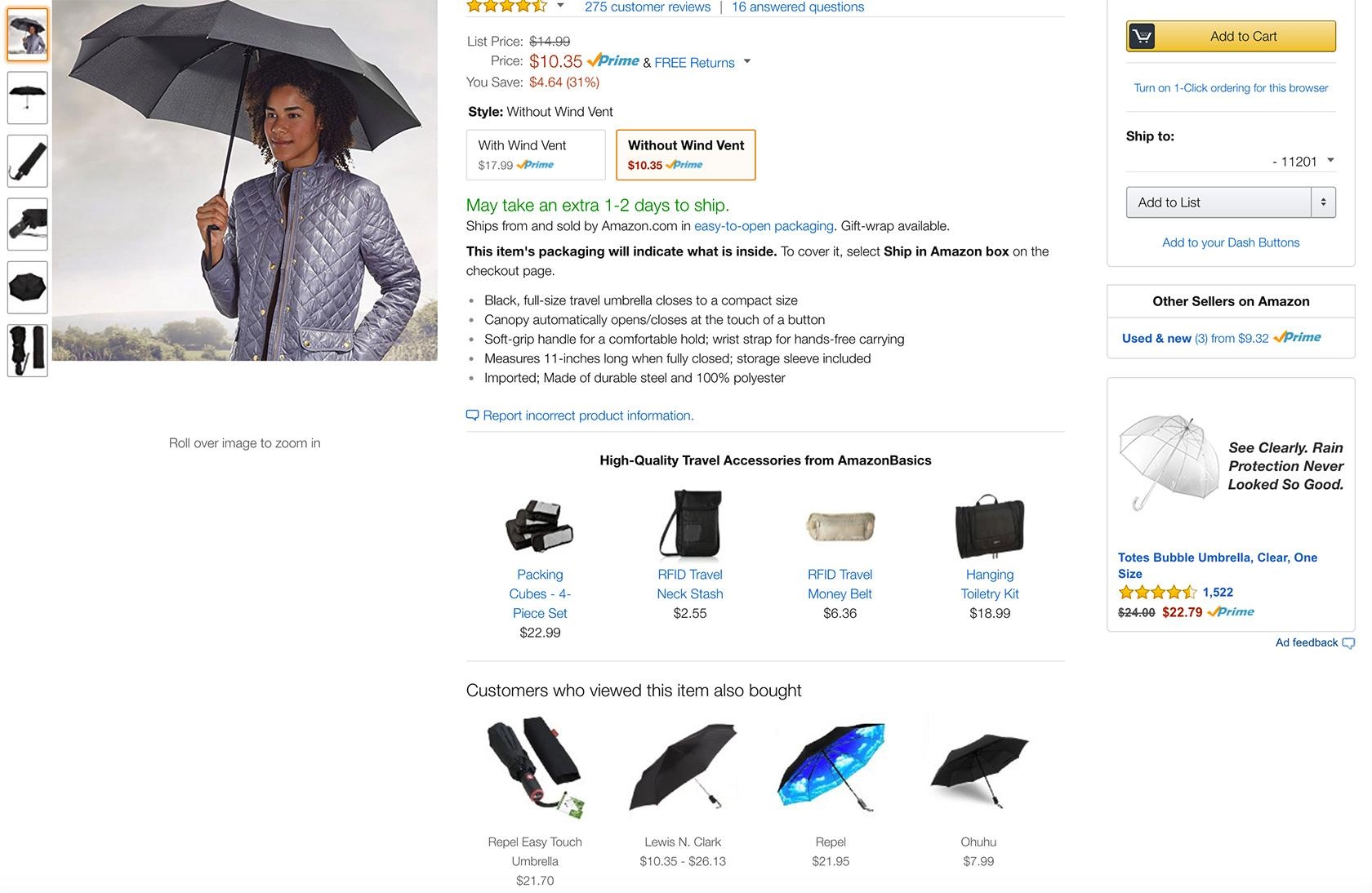Amazon Website Purchase Patterns