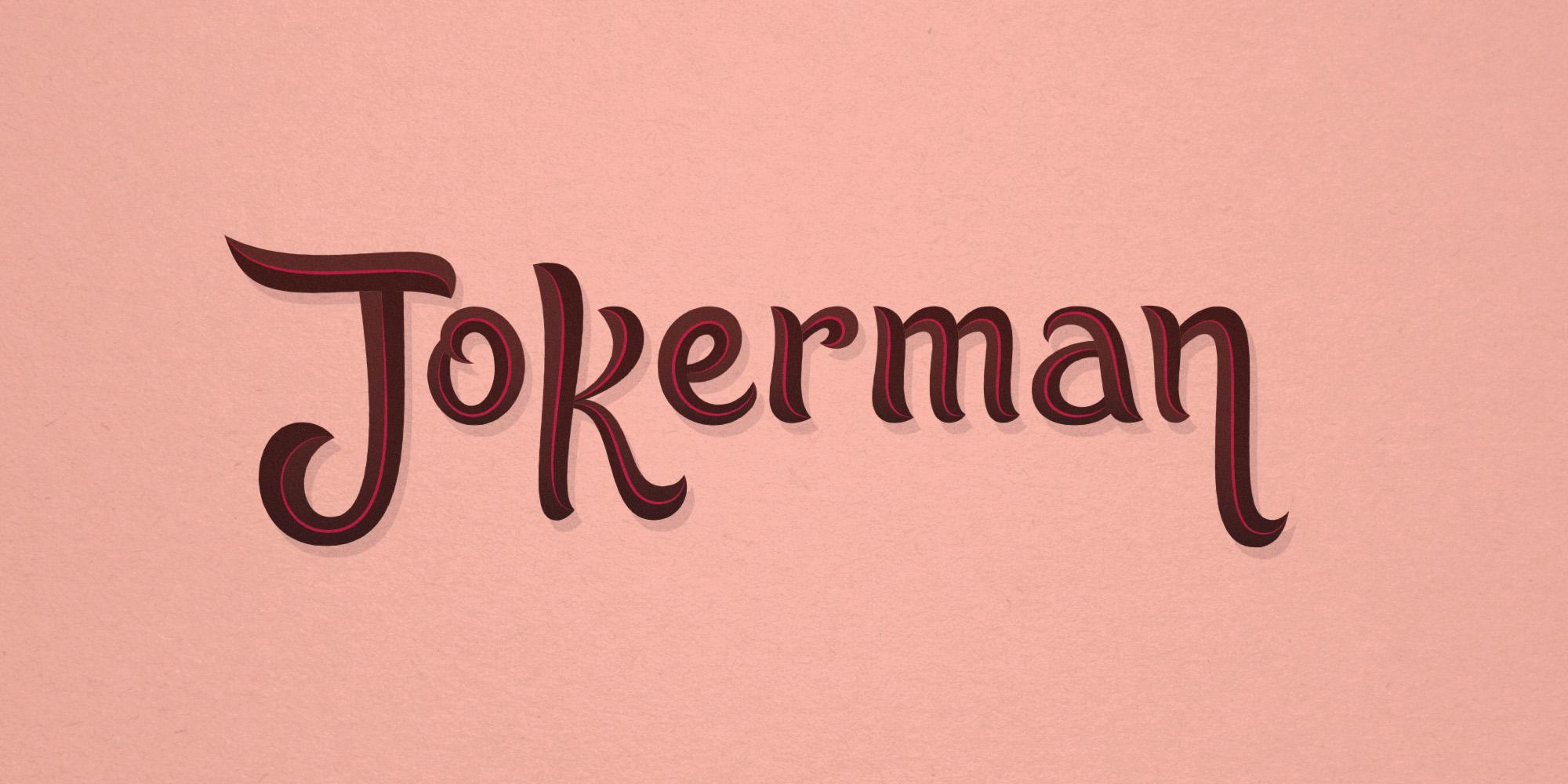 Jokerman reborn: Wide view