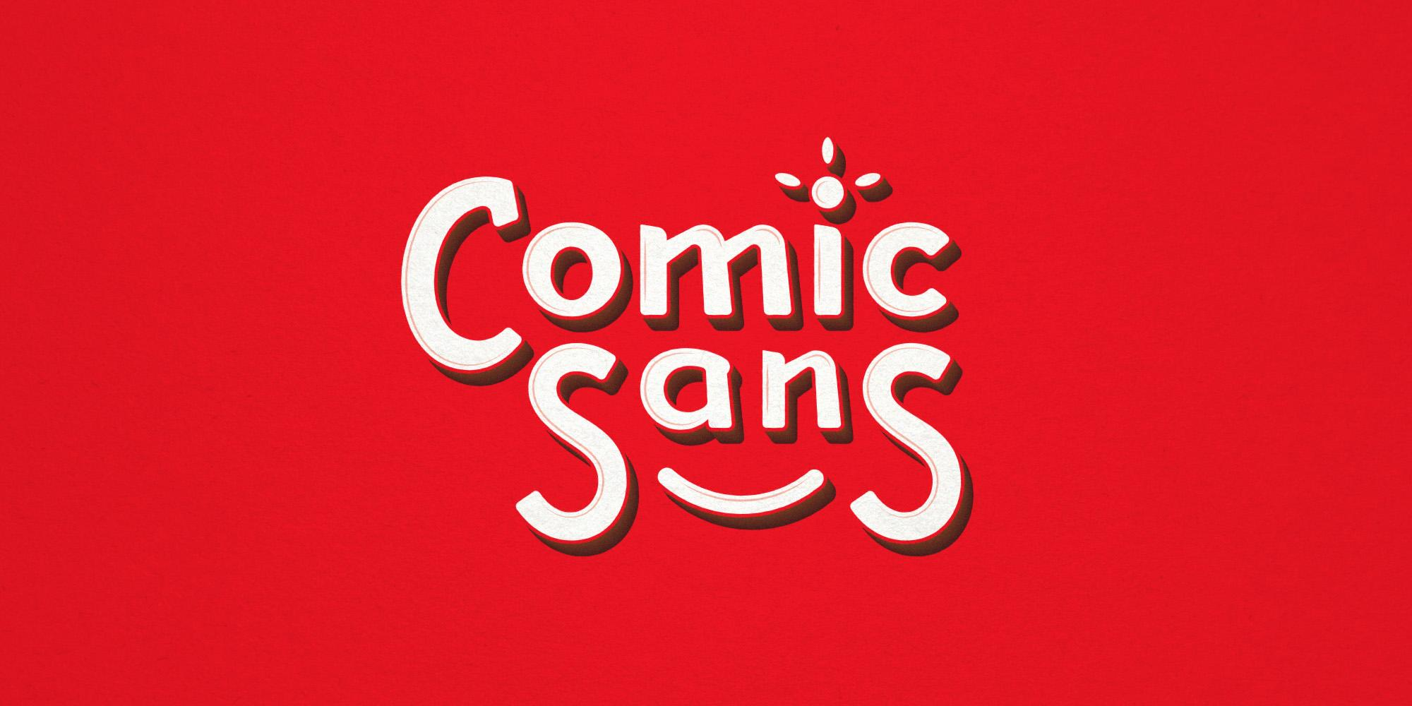 Comic Sans reborn: Wide view