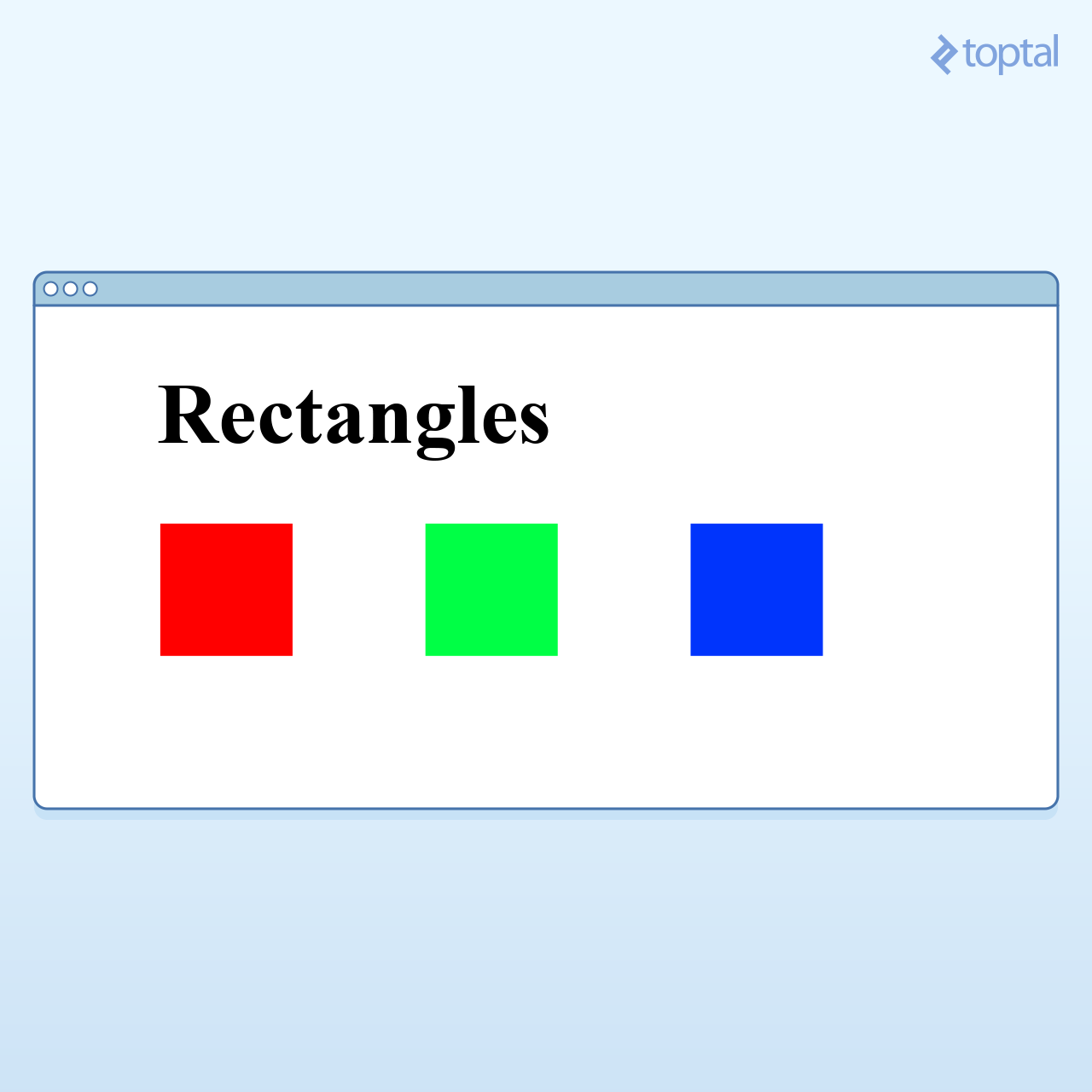 SVG Rectangles Example in Aurelia