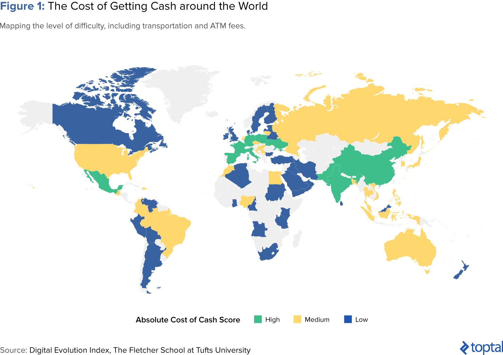 The Cost of Getting Cash around the World