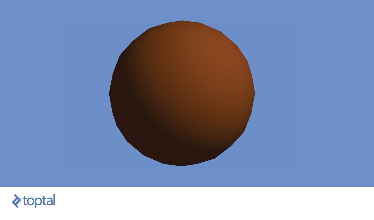 Brown object with sunlight and ambient light