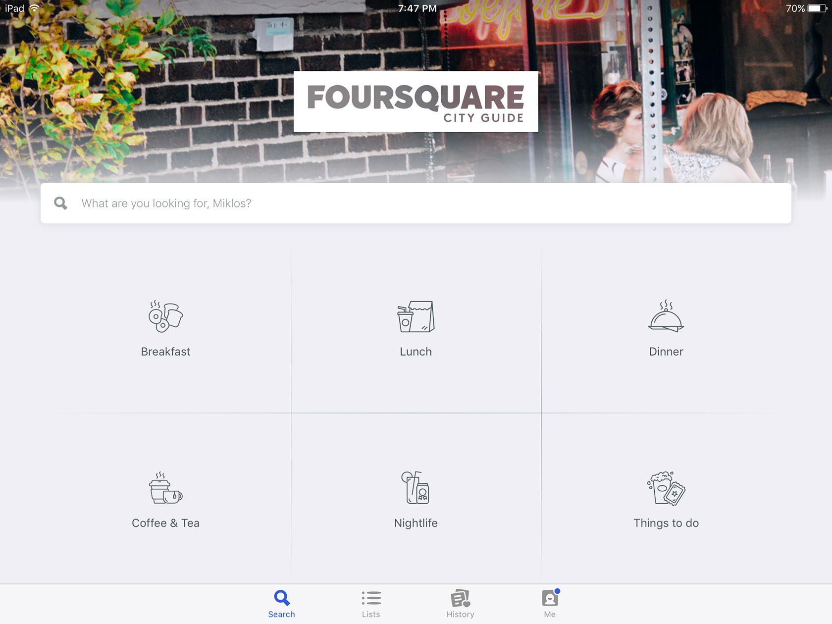 Foursquare uses design constraints to limit available interactions
