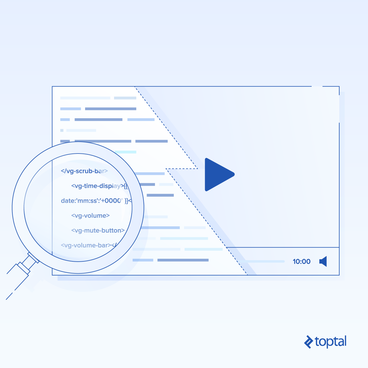 Cover illustration: Building an Angular video player
