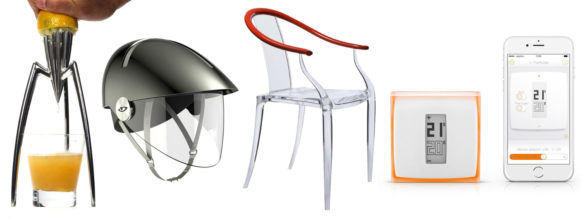Philippe Starck industrial design examples