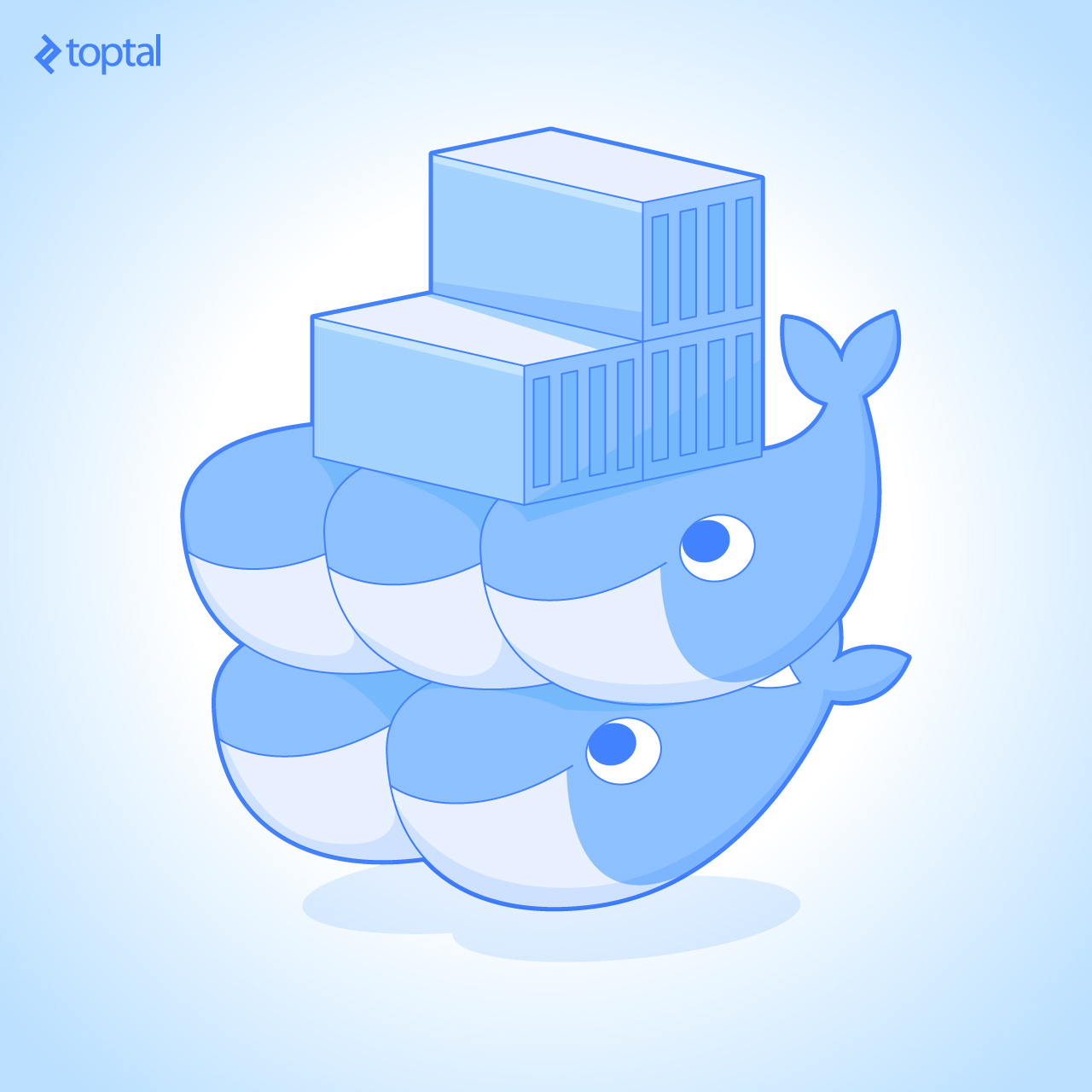 Docker Swarm mode logo