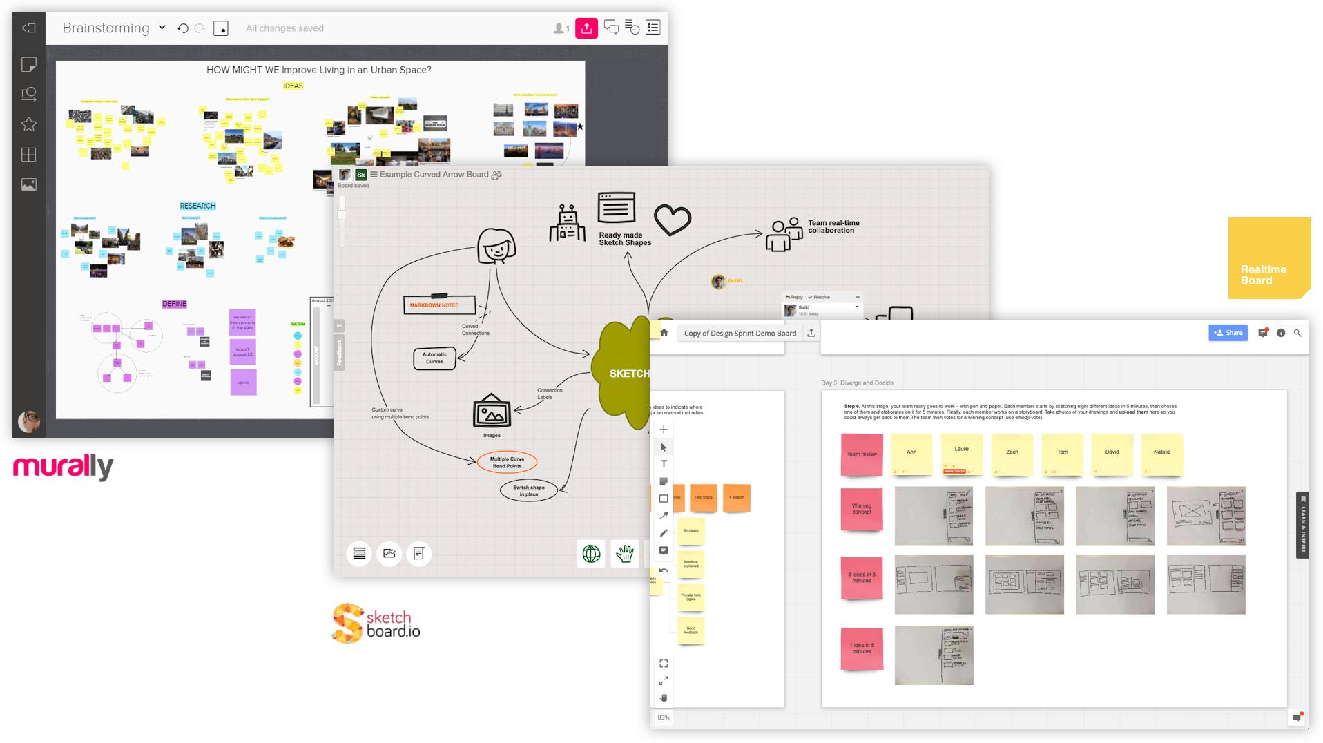 Las herramientas digitales como las placas virtuales ayudan a la eficiencia del taller UX