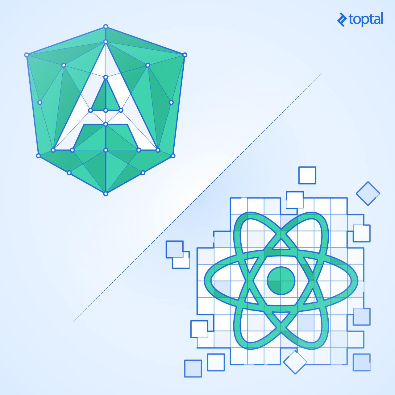Angular JS vs. React JS: Choose the framework way, or tinker with libraries? i-visionblog