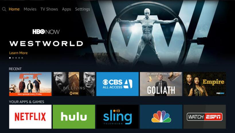 HBO TV UI Design
