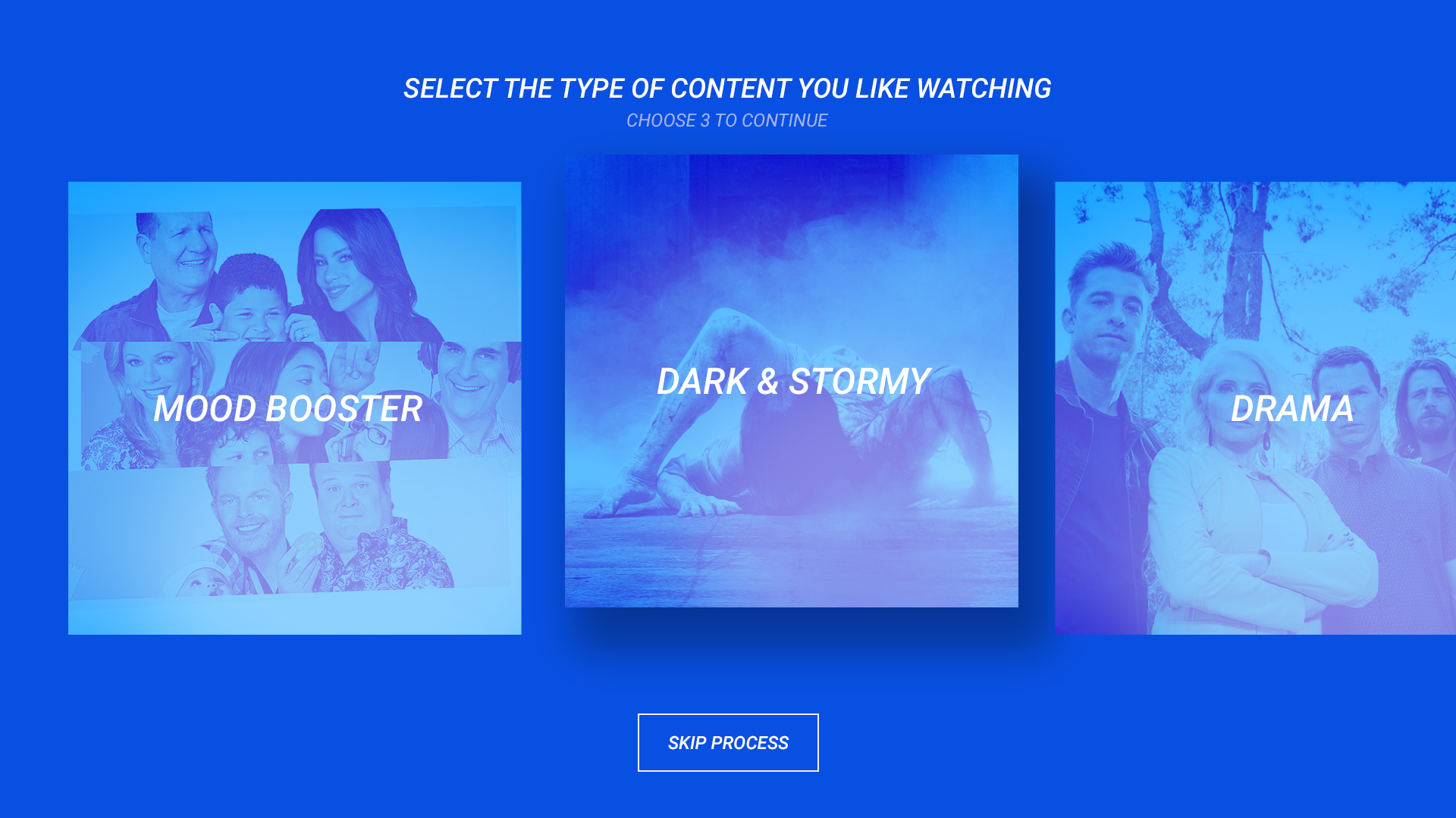 Turner Television User Interface Design for TV