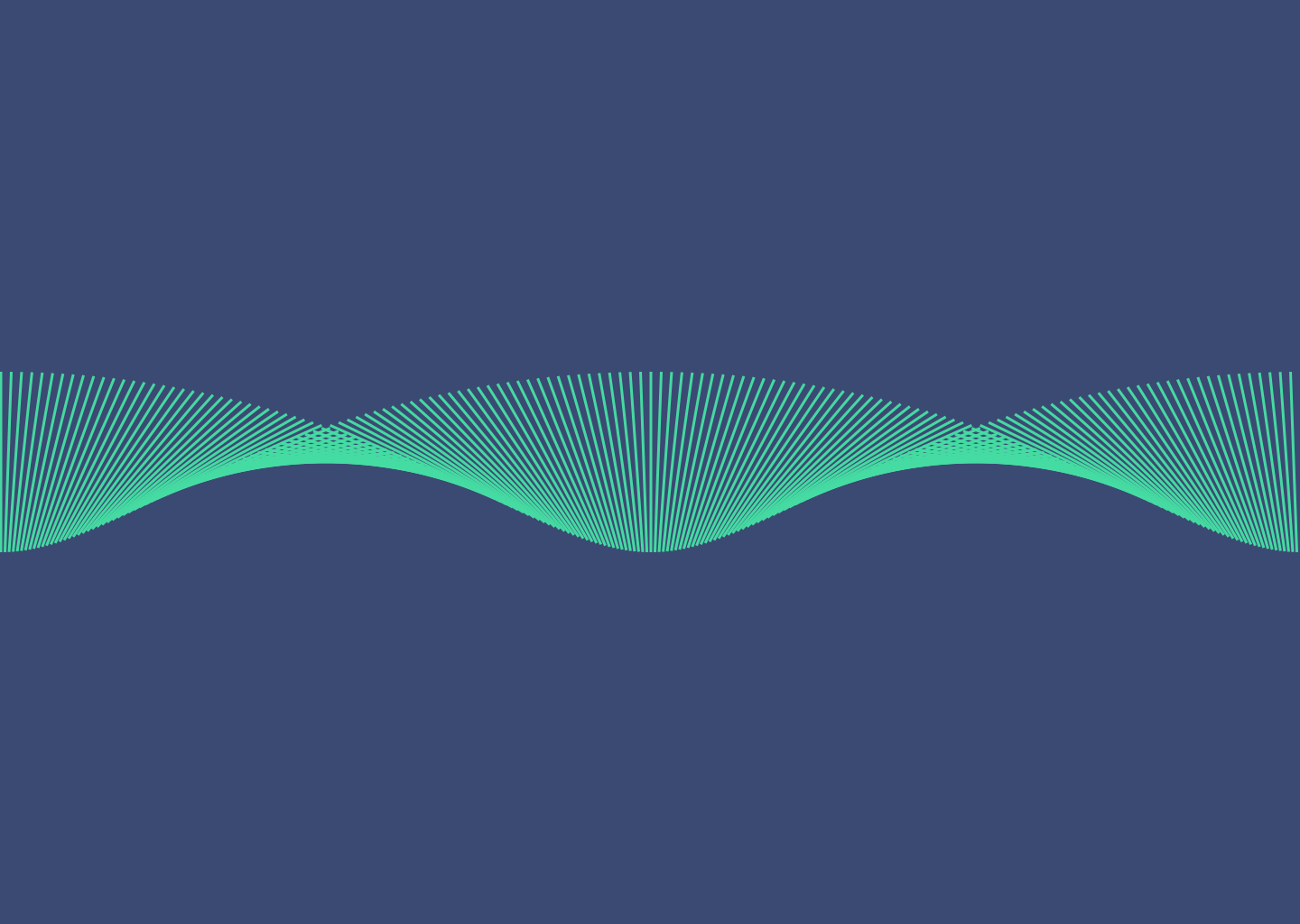 Wave made with Sketch and Looper