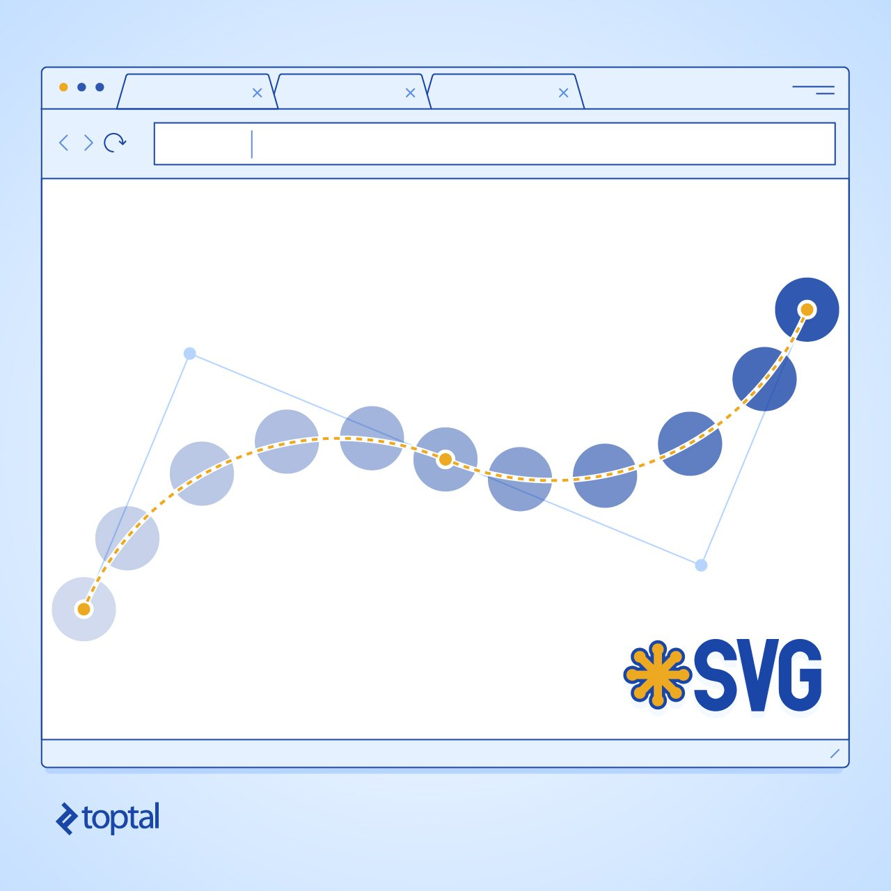 web browser with SVGs