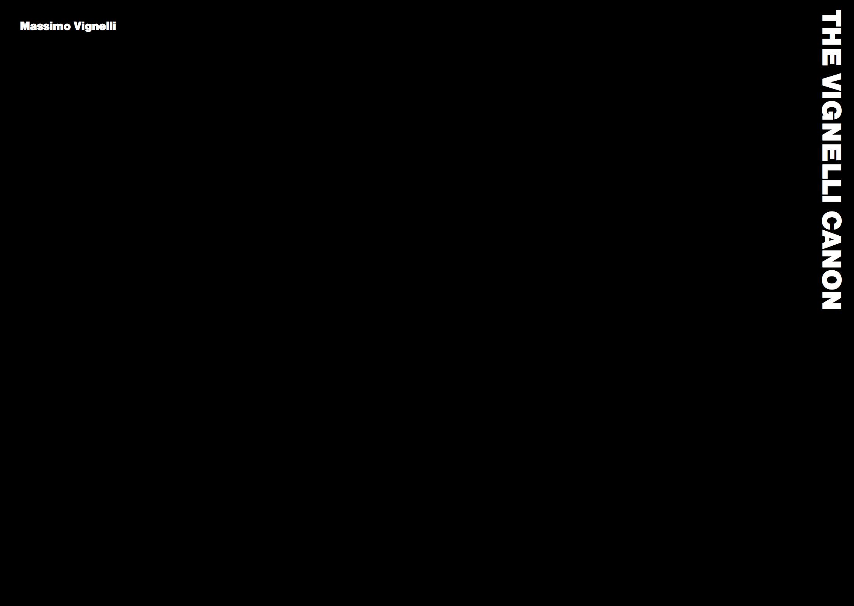 The Vignelli Canon — Massimo Vignelli
