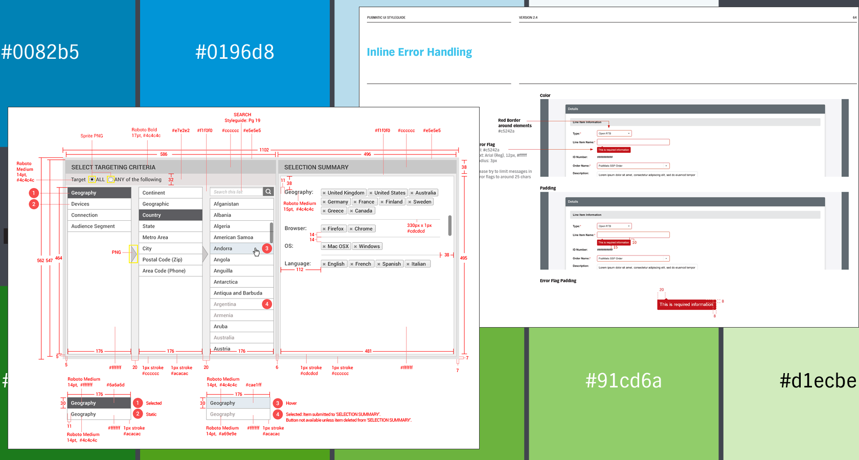 Styleguides and UX specifications are a UX deliverable and part of the UX design process