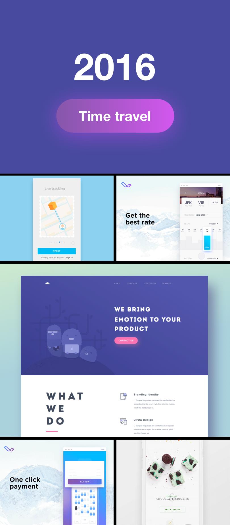 Diseño de botones del 2016