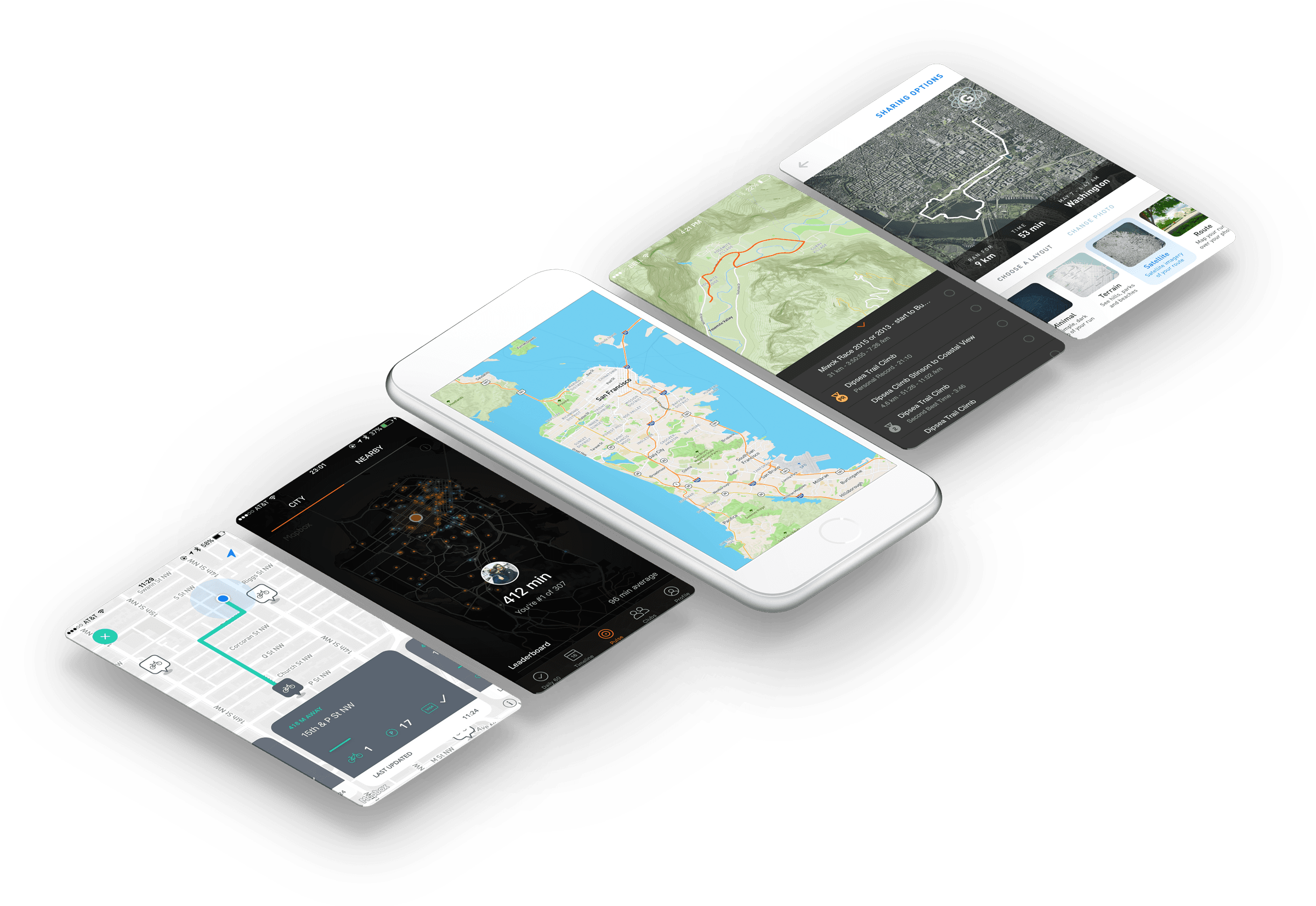 Mapbox maps via API on mobile phones
