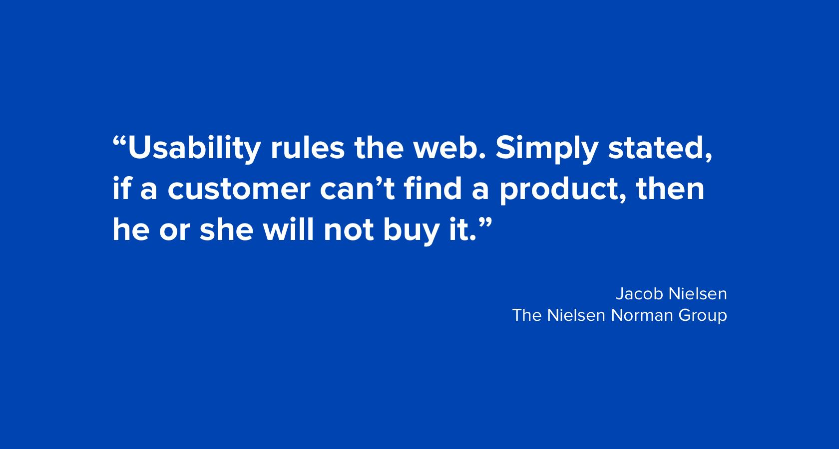 Quote by Jacob Nielsen