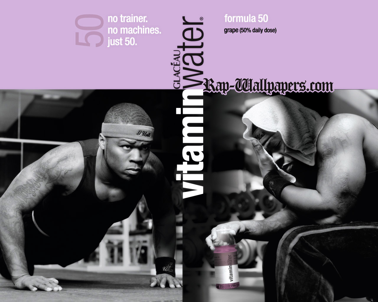 Image of advertising material for Vitaminwater