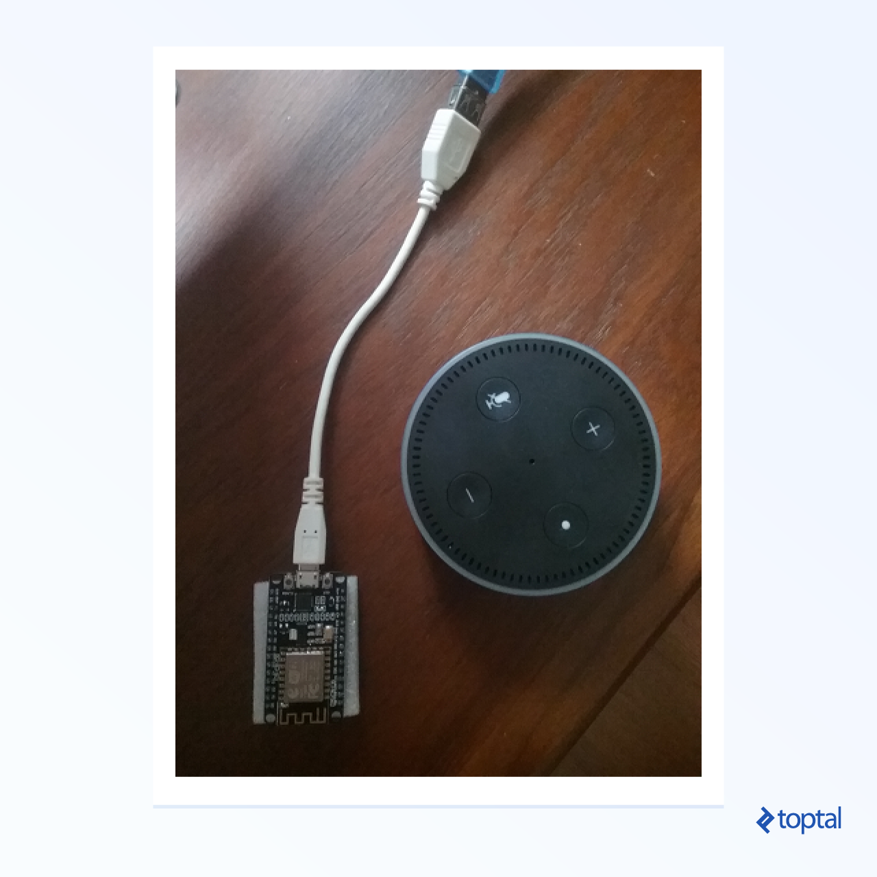 ESP8266 Arduino Tutorial: Hacking an Alexa | Toptal