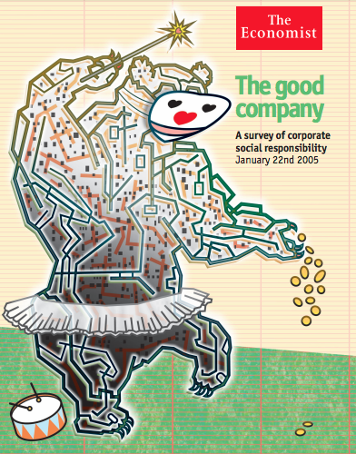 Image of the Economist cover