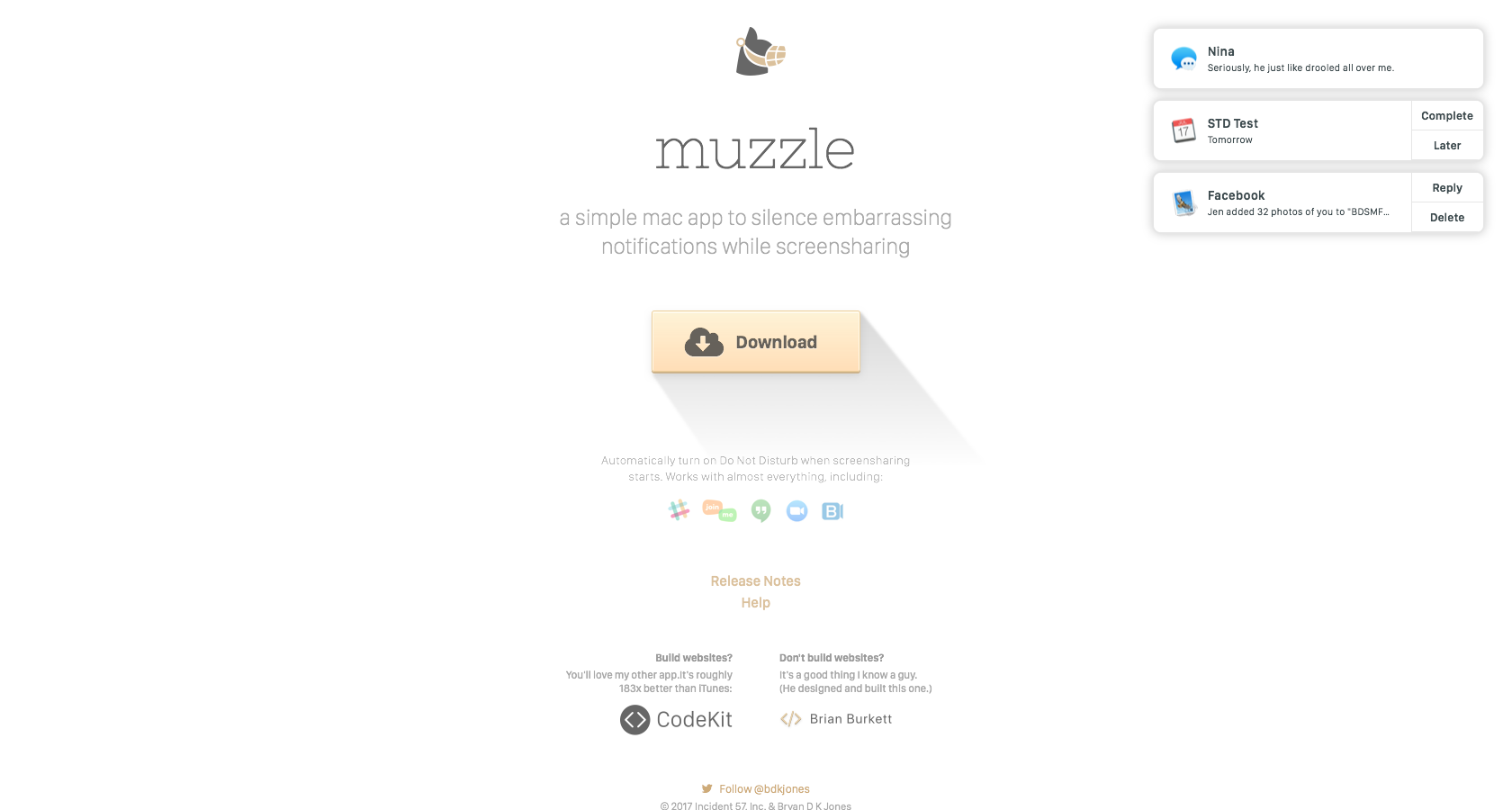 a minimalist, simple landing page design