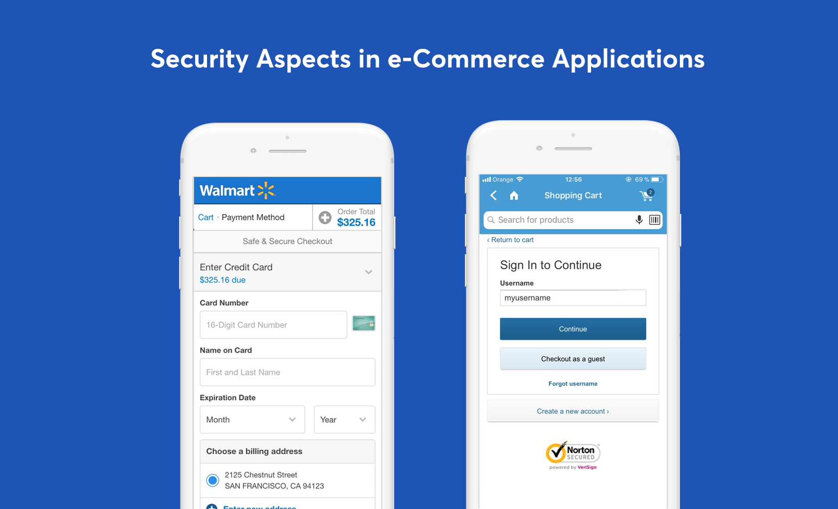 provide a sense of security in mobile eCommerce with trust insignia