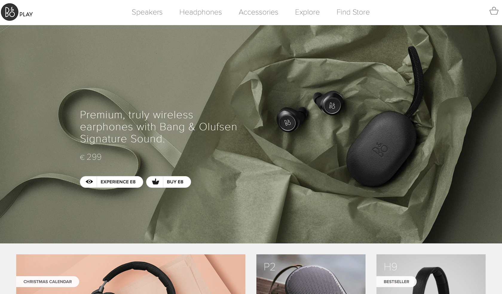 ecommerce ux design for a landing page