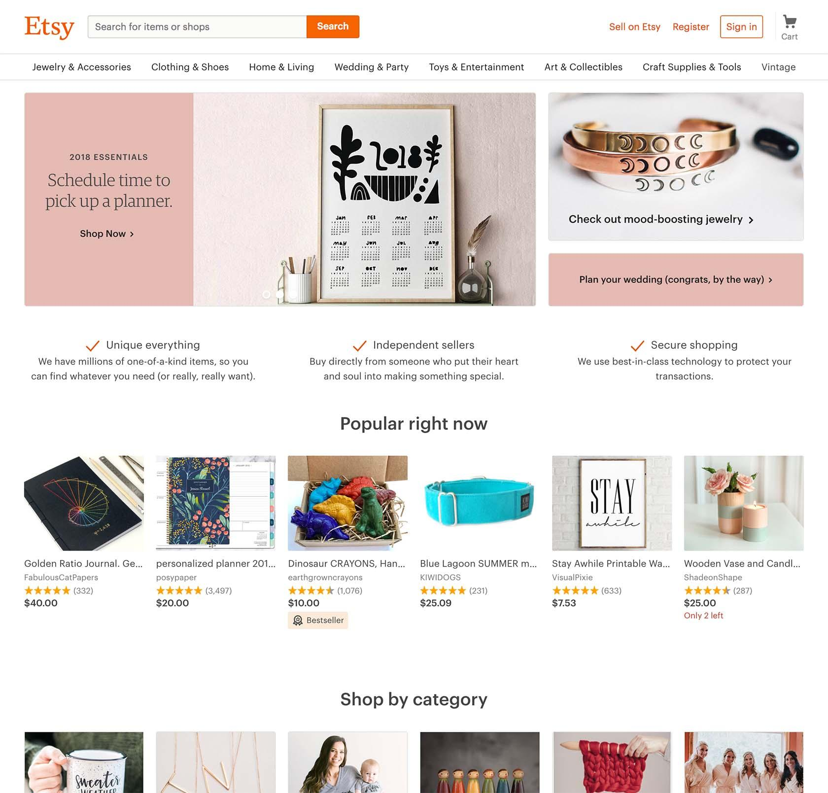 ecommerce ux - product discovery