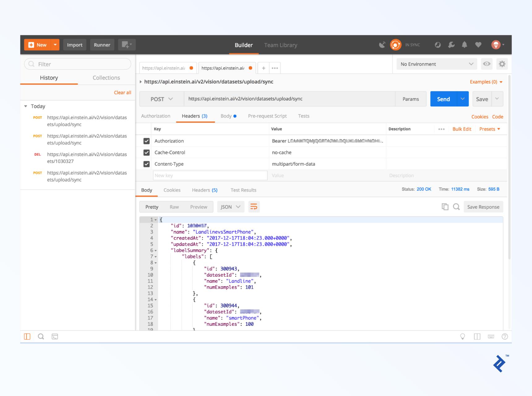 Exploring the Salesforce Einstein API | Toptal