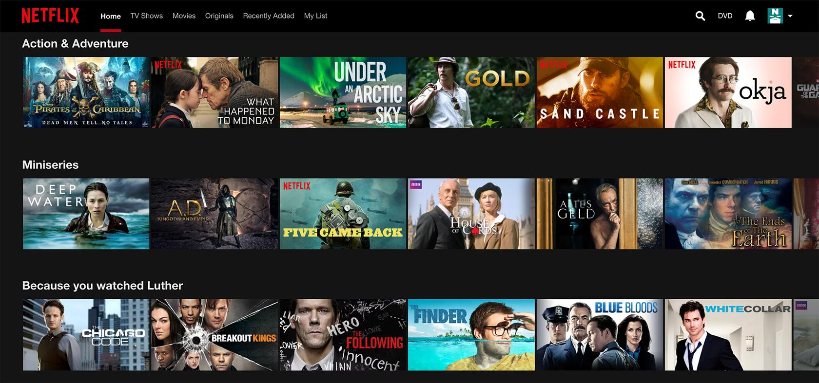 netflix personalized ui design not anticipatory design