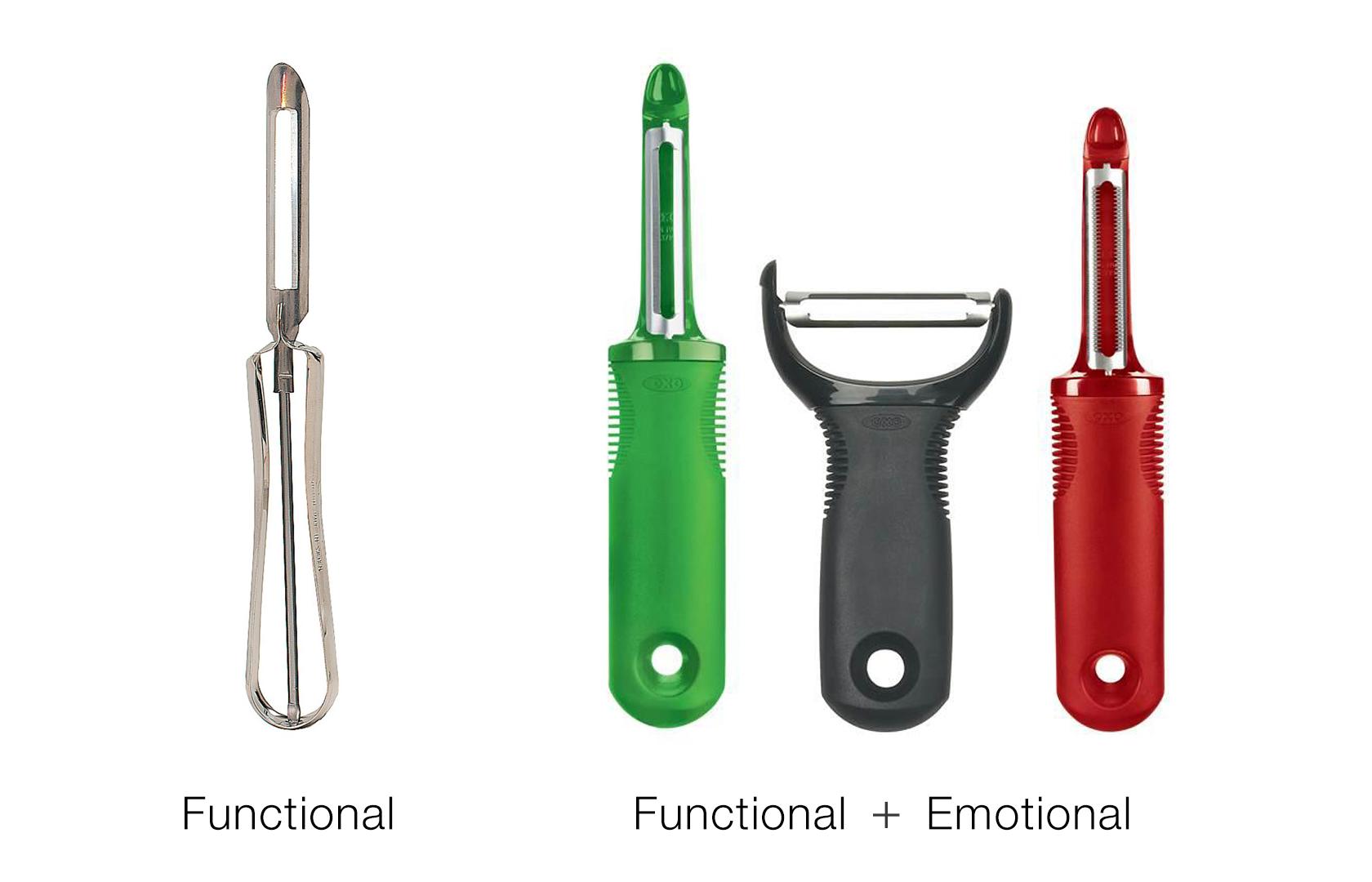 diseño funcional versus diseño emocional