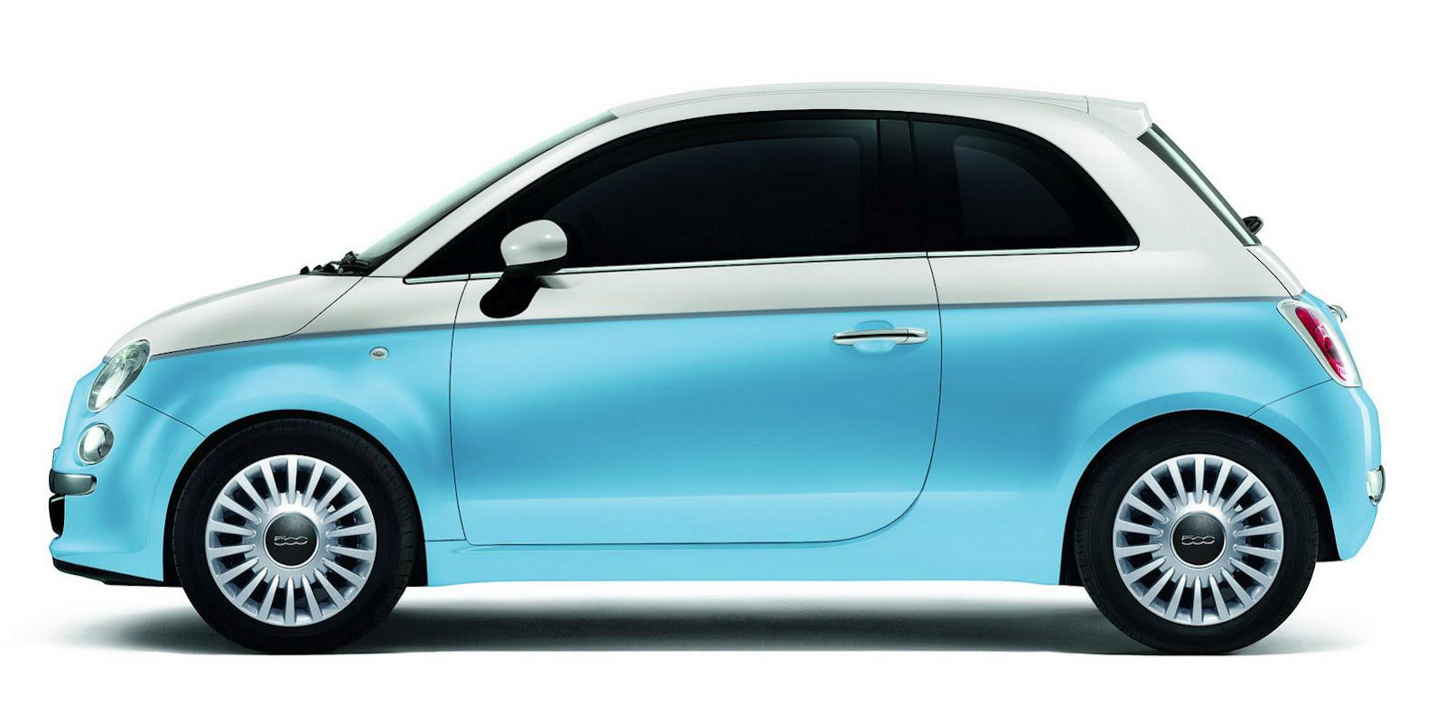 fiat 500, cute, fun, combines design and emotion