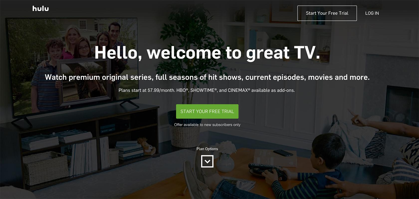 hulu trial reciprocity in action