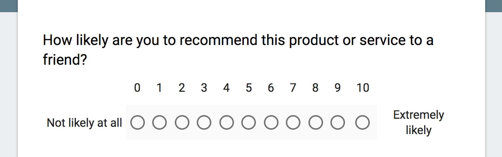 Net promoter score isn t enough you need user research for Net promoter score survey template