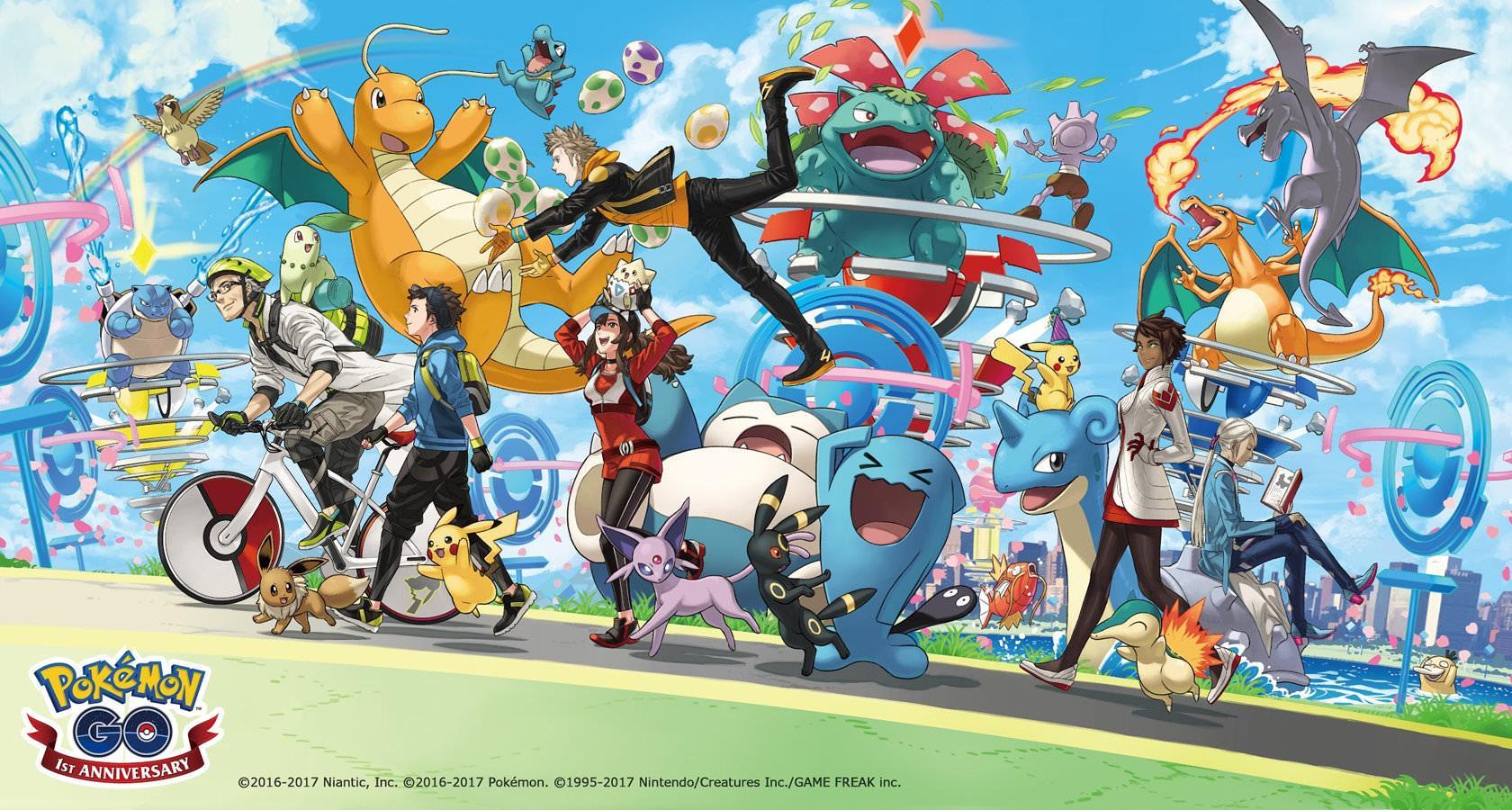 Diseño de gamificación de Pokémon Go