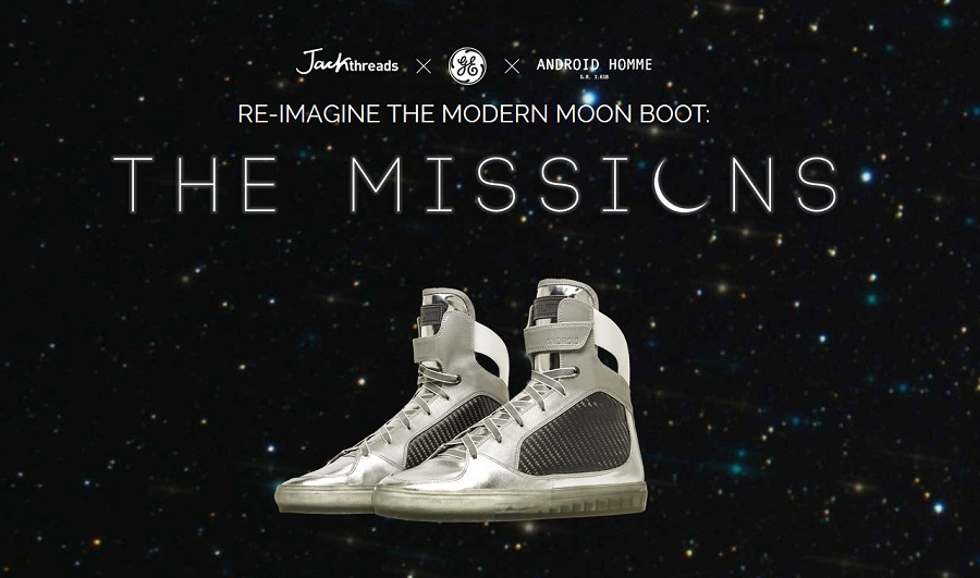 image of GE's moon boot sneakers