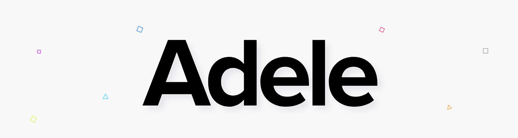 Adele sistemas de diseño público y bibliotecas de patrones